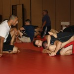 Learning from Ralek Gracie.