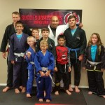 At a kids class at Sugoi Submissions in North Carolina.